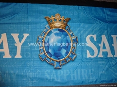 Dye sublimation banner