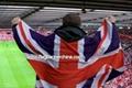Football fans banner    custom cape