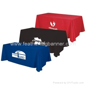 Branded table cover    Branded table cloth 4