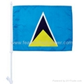 Window Clip Car Flag