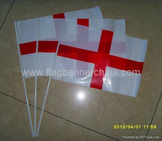 Custom mini stick flags