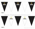 Polyester bunting flags