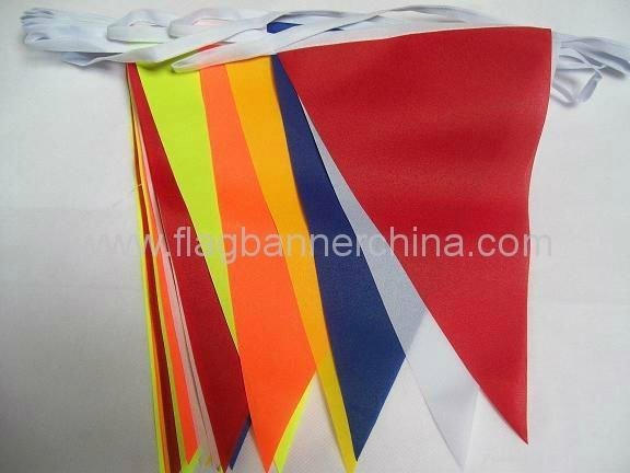 Printed pennant flag