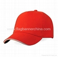 Corporate logo golf cap