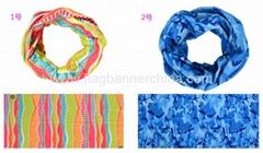 Microfiber seamless headwear   headscarf headband mask