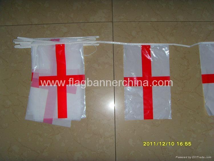 Custom logo PVC buntings