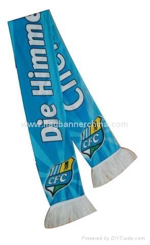 Custom logo scarf