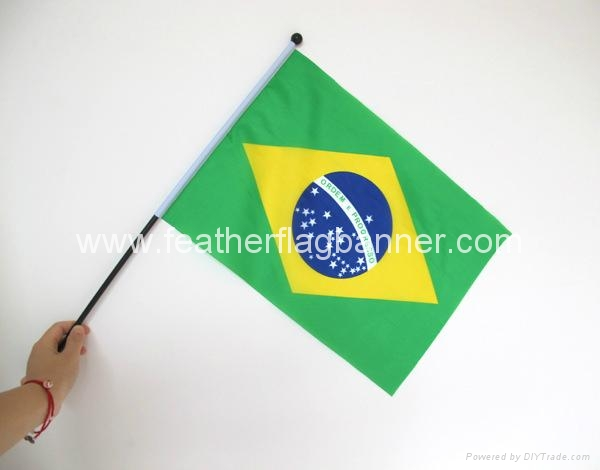 Advertising hand flags