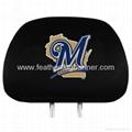Custom Car Headrest Cover