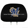 Custom Car Headrest Cover