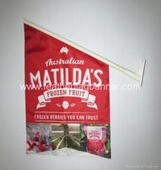 Polyester wall flag    Fabric wall flag