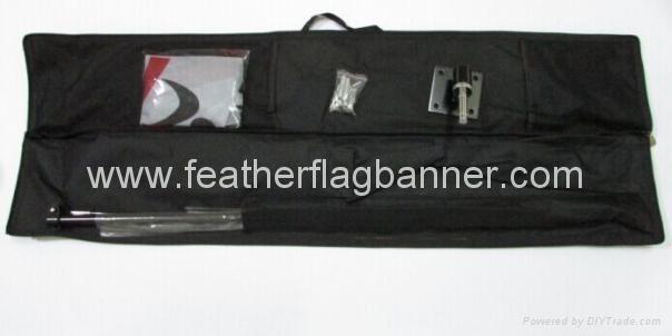 Teardrop flag kit china