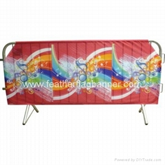 Event barrier mesh cover