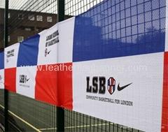 Outdoor mesh banner    o