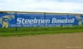 Custom fence mesh banner