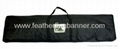 Branded feather banner