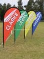Custom design flying banner