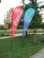 Wind flying banner   Wind flag