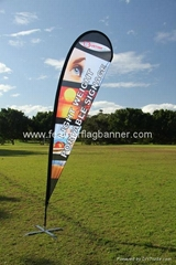 Teardrop flag cheaper