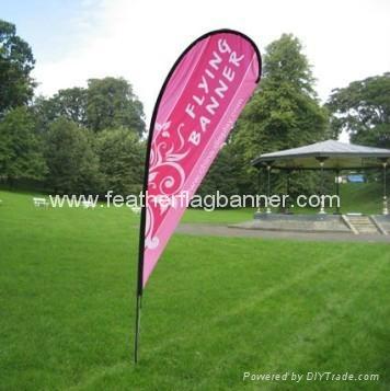 Event teardrop flag banner 2