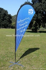 Event wind flags    Wind teardrop flag