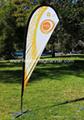 Wind Teardrop Banner     Event teardrop banner