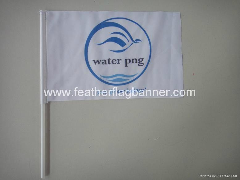 Hand held banner