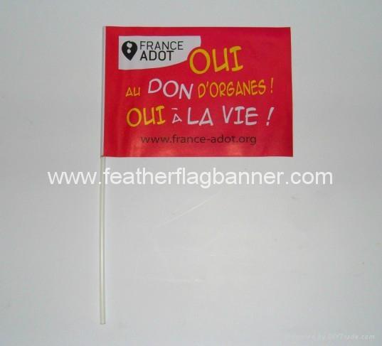 Mini stick flags