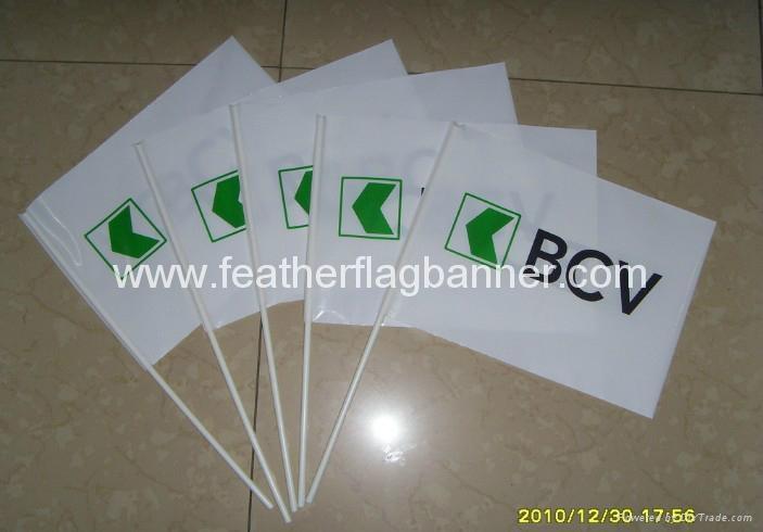 PVC stick flags