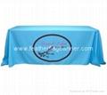 Digital printed table cloth   Printed table banner