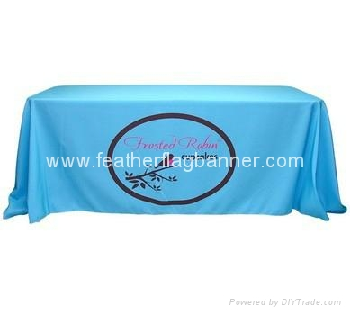 Event table cover    custom booth table cover 3