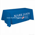 Event table cover    custom booth table cover