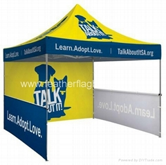 Custom printed tents  Event tents