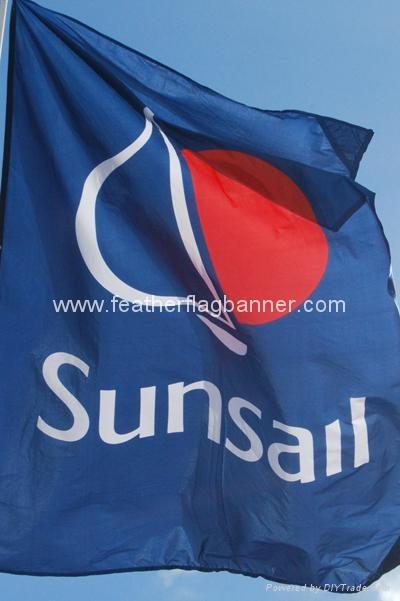 Corporate flags     custom company flags 3
