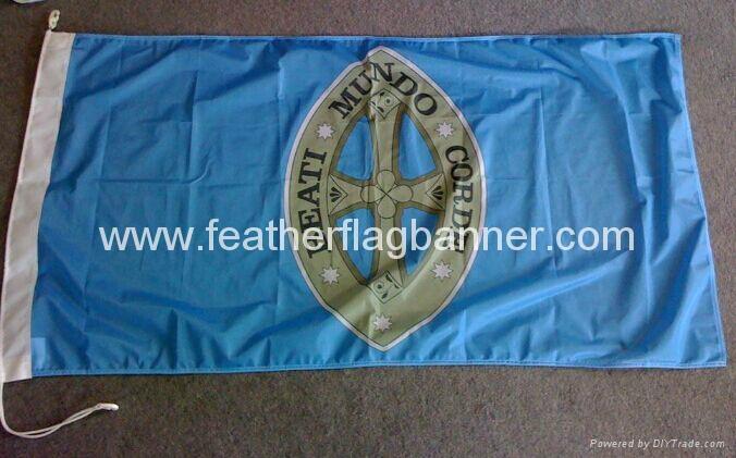 Fan banner     printed fans banner 1