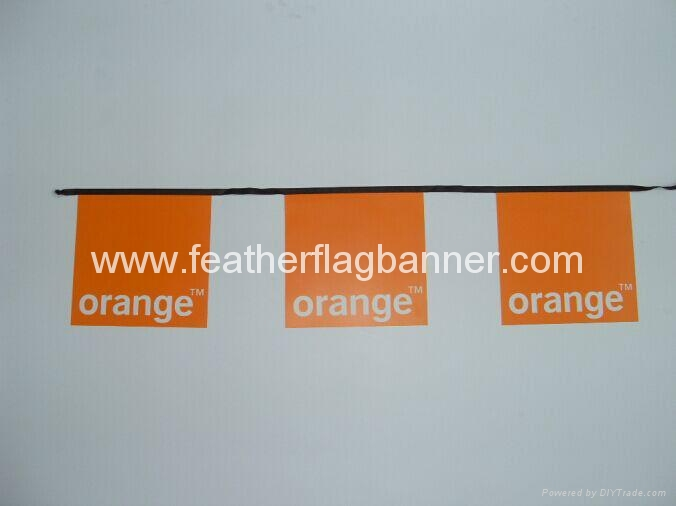 Custom PVC string flag 1