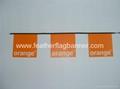 Custom PVC string flag