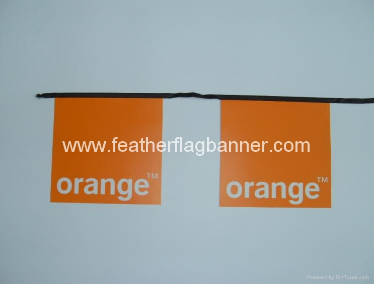 Custom PVC string flag 2