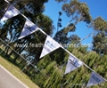 Event bunting flags