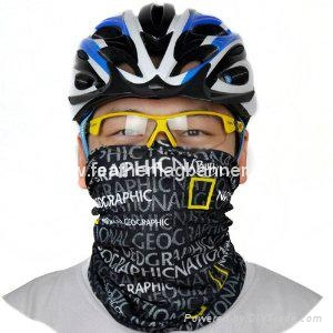 Bicycle tube neck warmer