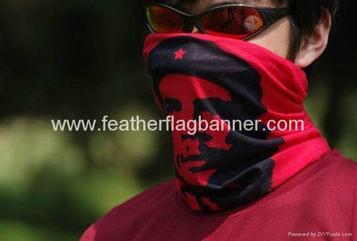 Full color sport neck wamer