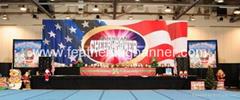 Custom stage banner