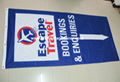 Silk screen fabric banners    silk printing banner