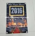 Custom satin banner   Printed satin banner