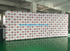 Backdrop banner wall