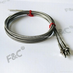 F&C high temperature glass fiber optic sensor