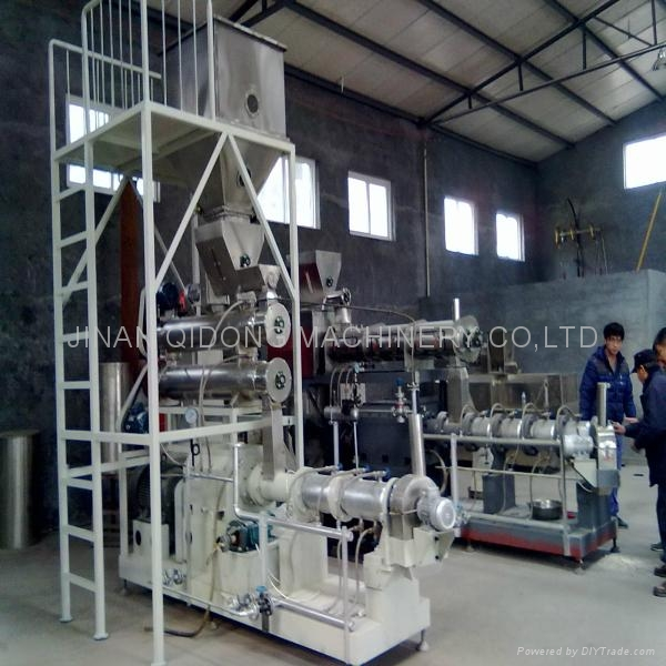 Extruder textured soybean processing machine/line 2