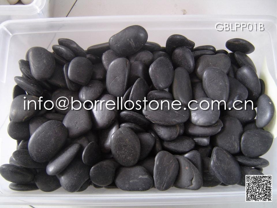 Polished Black Pebble