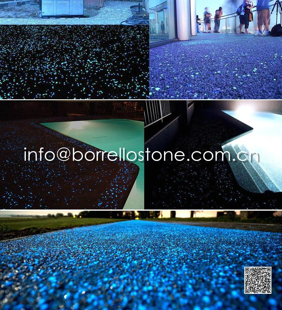 Glowstone for paver
