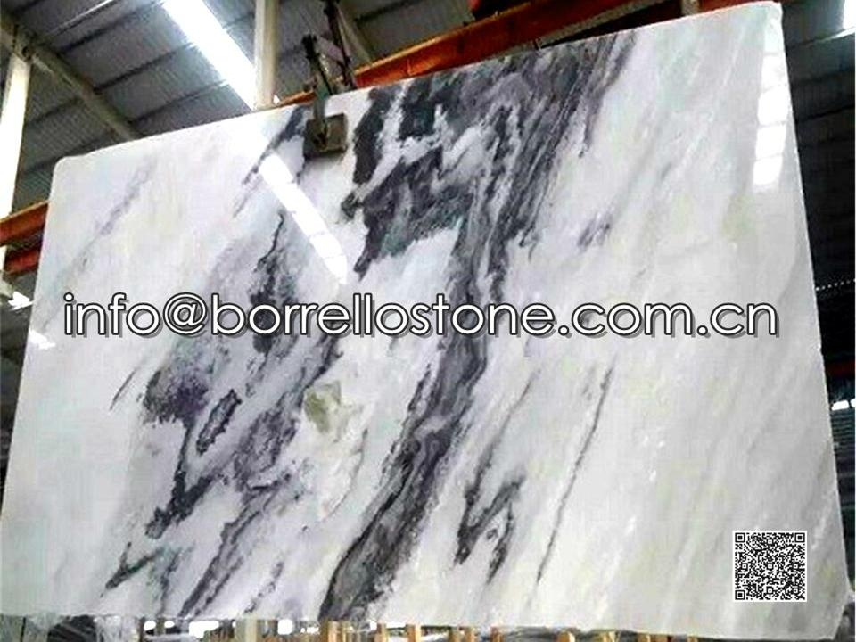 Grey Marble Slabs - Polished
